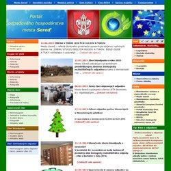 www.ekoportalsered.sk